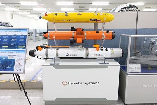Hanwha Systems working on full unmanned AI-driven underwater system