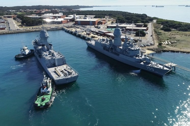 Australian Navy outfits Anzac class frigates with new sonar system