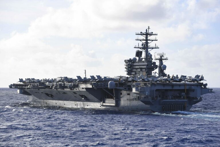 The U.S. and Chinese navies may encounter in the South China Sea