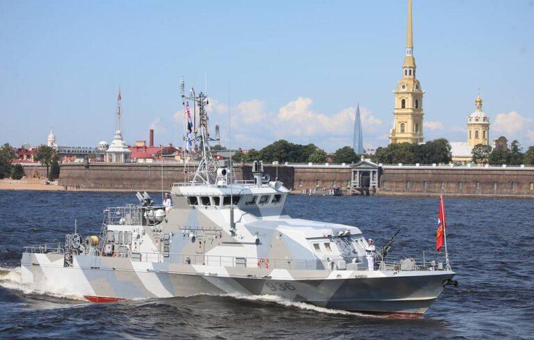 Zelenodolsk Shipyard lays keel of two Grachonok-class patrol boats