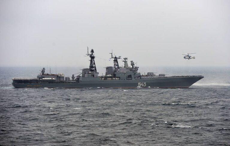 Russian Navy's Marshal Shaposhnikov frigate begins sea trials after upgrade