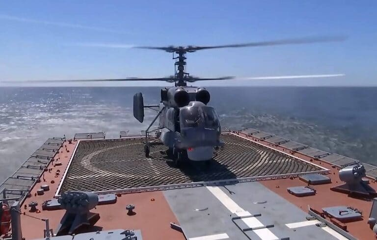 Russia's under-construction helo carriers to carry multi-purpose gunships