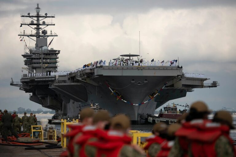 Dwight D. Eisenhower Carrier Strike Group Returns from Deployment