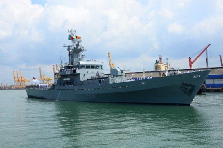 Bangladesh Navy's BNS Bijoy corvette was damaged in Beirut Explosion