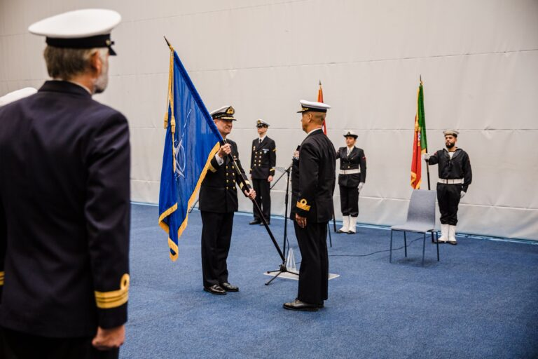 Norway hands the command of SNMG1 over to Portugal