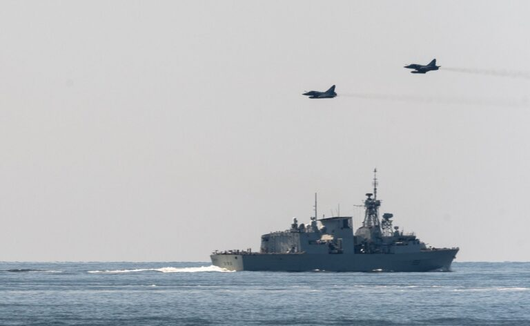 NATO Maritime and Air assets conduct training in the Baltic Sea