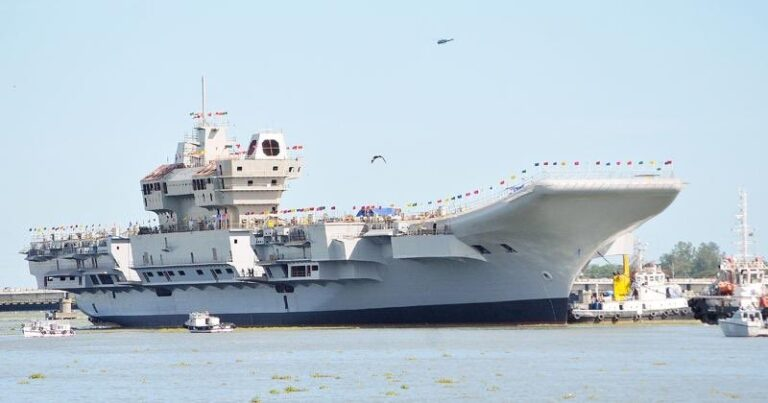 India's first indigenous aircraft carrier INS Vikrant completes harbour trials