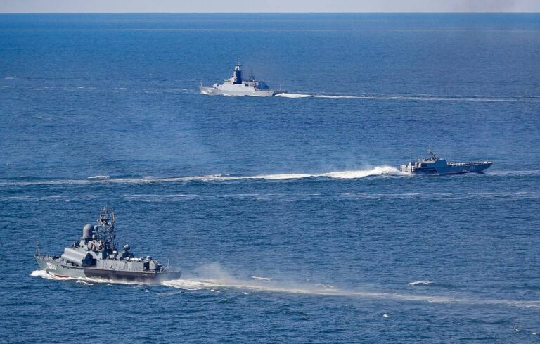 Russian Navy kicks off Oceanic Shield-2020 exercise in Baltic Sea