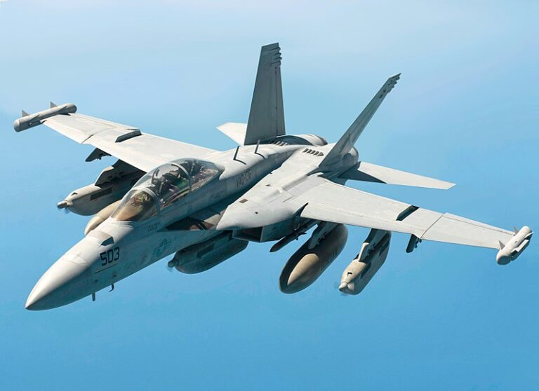 U.S. Navy tests New Generation Jammer Mid-Band on EA-18G Growler
