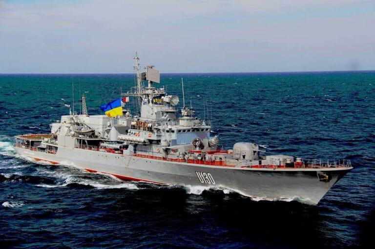 UK launches multinational training effort to improve Ukrainian Navy