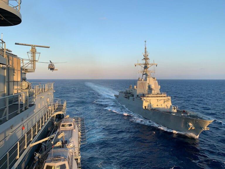 Standing NATO Maritime Group-2 arrives Rota Naval Base in Spain