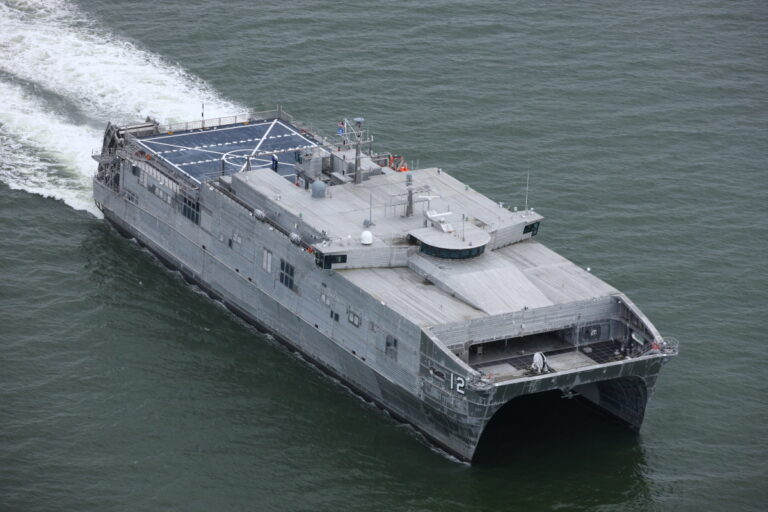 U.S. Navy's 12th Expeditionary Fast Transport completes acceptance trials
