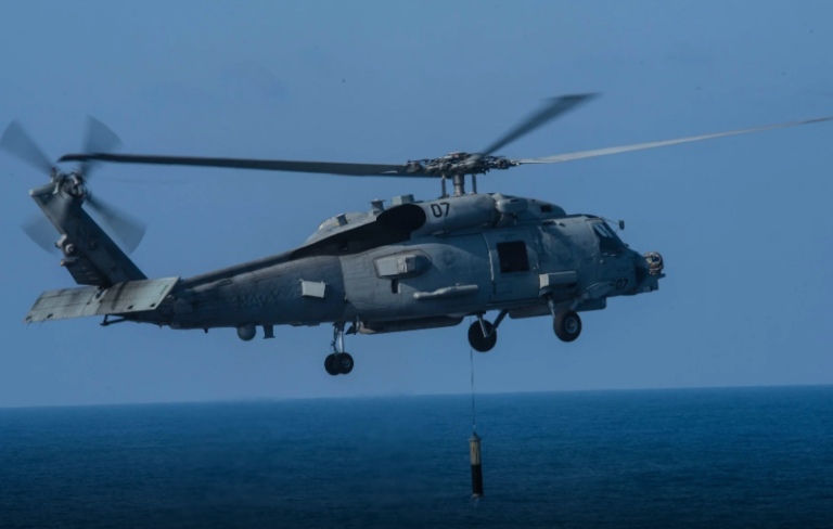 Lockheed Martin secures $182 million sonar contract for Indian and Danish MH-60R helos