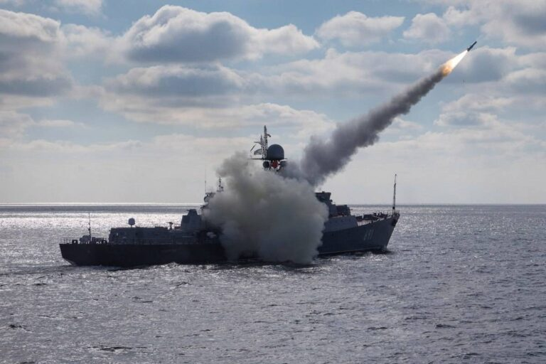 Russian and Iranian warships conduct live-fire together in Kavkaz 2020 exercise