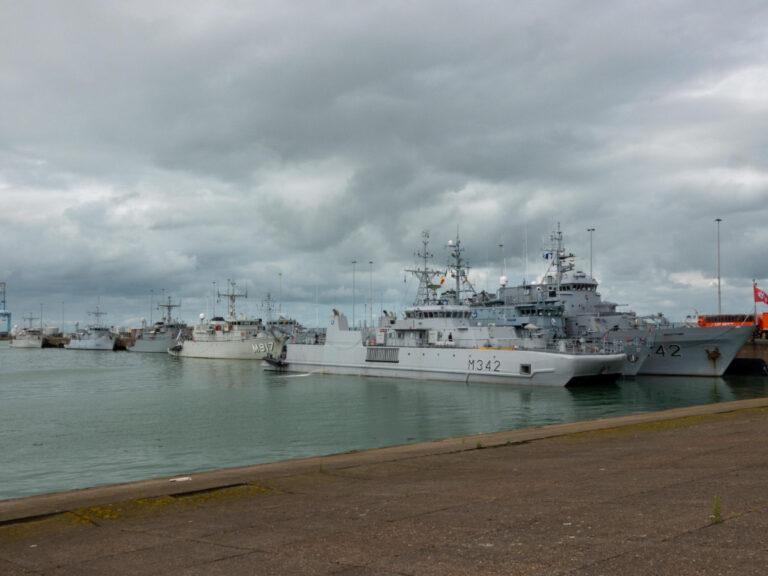 NATO Mine Countermeasures Group-1 participates in Sandy Coast exercise