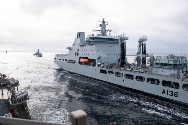 U.K., U.S. and Norwegian ships to conduct training in the Barents Sea