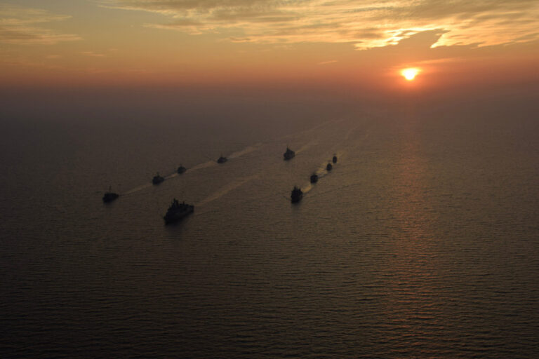 NATO Maritime Groups of the northern region link up at sea