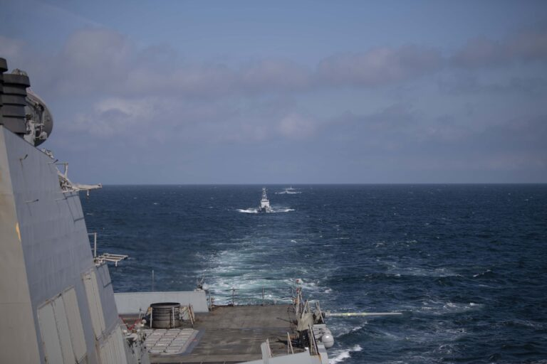 U.S. and Ukrainian naval assets conduct joint ops in the Black Sea