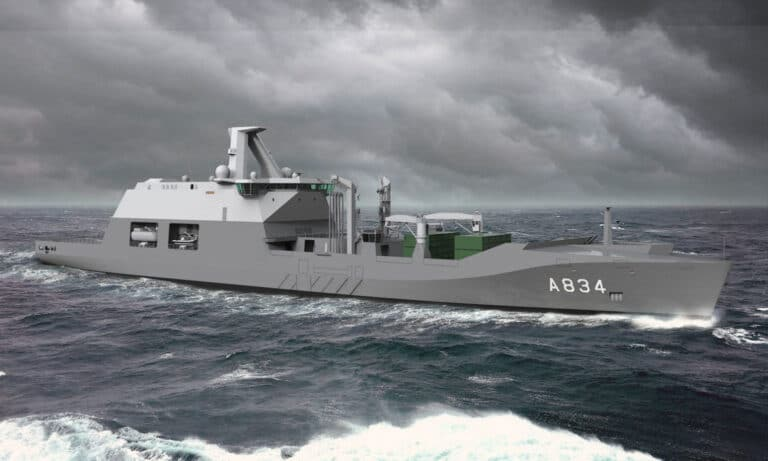 GE to provide electric propulsion systems to Dutch Navy's new Combat Support Ship