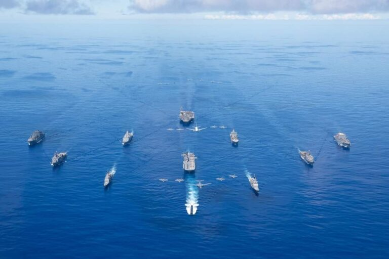 US Navy's Ronald Reagan CSG concludes Valiant Shield 2020 exercise