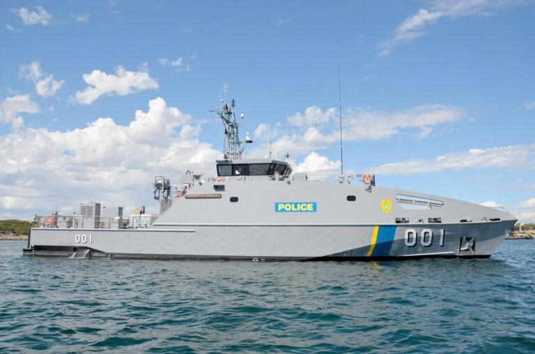 Austal delivers 7th Guardian class patrol boat to Australian DoD