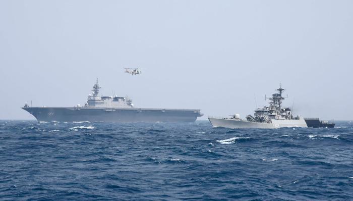 India and Japan kicks off JIMEX 20 bilateral exercise in the North Arabian Sea