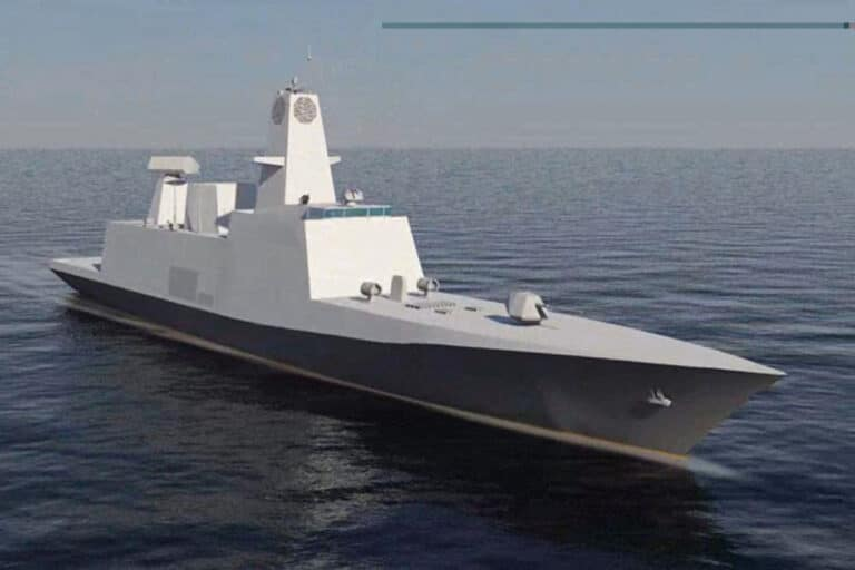 Indian shipbuilder laid keel of 3rd Project 17A class stealth frigate