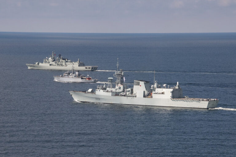 Standing NATO Maritime Group 1 conducts exercise with Lithuanian Navy