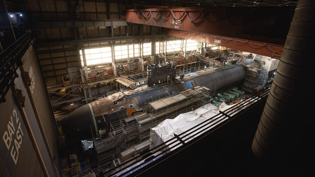 uss montana ssn 794 construction - naval post- naval news and information