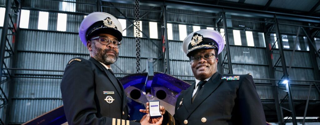 dsct keel laying hero - naval post- naval news and information