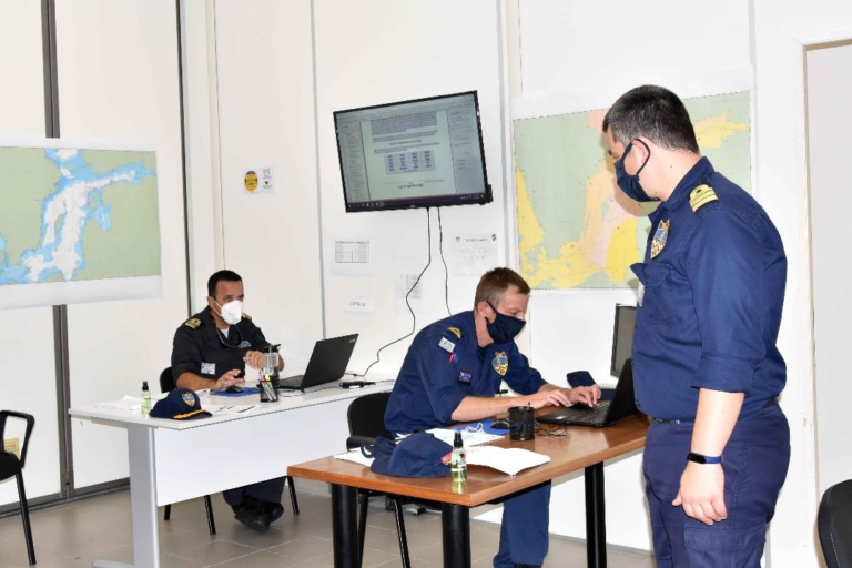 Dynamic Move 20 mine computer-based exercise commenced in La Spezia