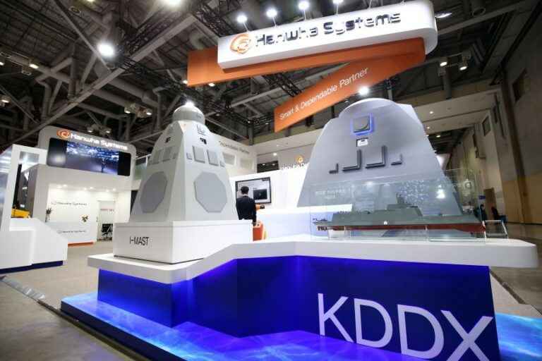Hanwha Systems to develop combat system and multifunctional radar for KDDX destroyer