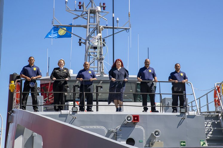 Australia delivers 7th Guardian Class Patrol Boat to its Pacific partner Palau