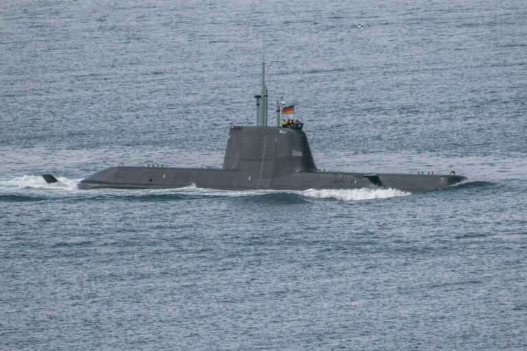Singapore Navy's first Invincible class submarine begins sea trials