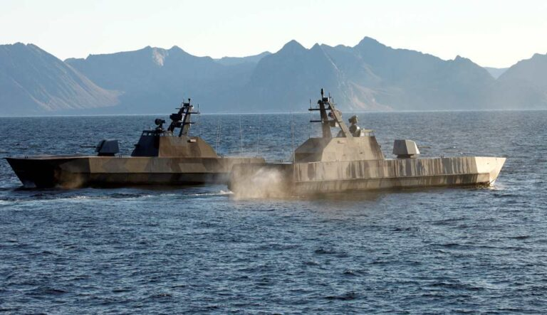 UMOE&Kongsberg cooperates to upgrade Skjold class corvettes of Norway