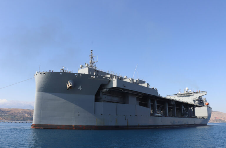 U.S. decides to embark Expeditionary Sea Base in Greece permanently