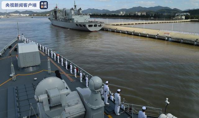 Chinese naval task group completes the escort mission in the Gulf of Aden