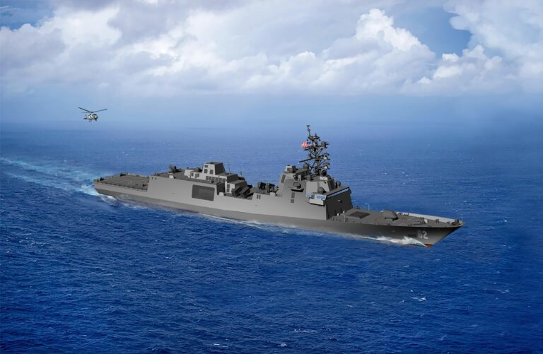 U.S. Navy Names New Class of Guided Missile Frigates