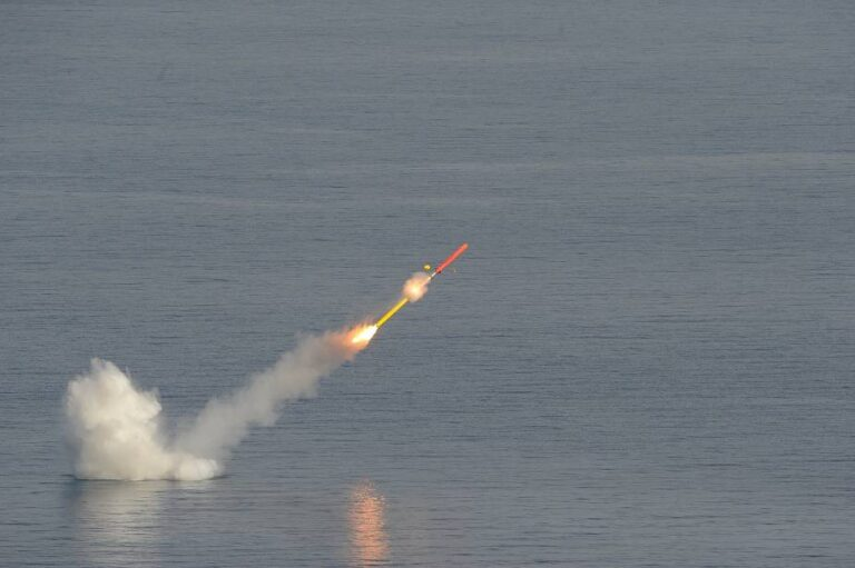 French Navy's new nuc-submarine test-fires Exocet SM39 and Naval Cruise Missile