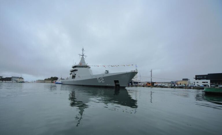 Naval Group launches 2nd OPV for Argentinian Navy