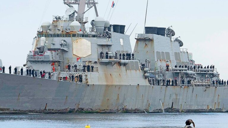 USS Stout returns home after breaking the record with 7 months of deployment