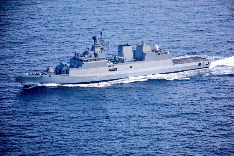 Indian Navy commissions 4th Kamorta class ASW corvette INS Kavaratti