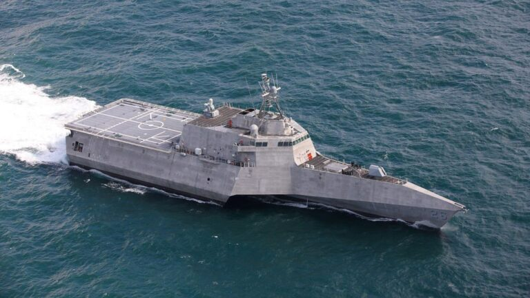 The future USS Mobile (LCS-26) completes acceptance trials