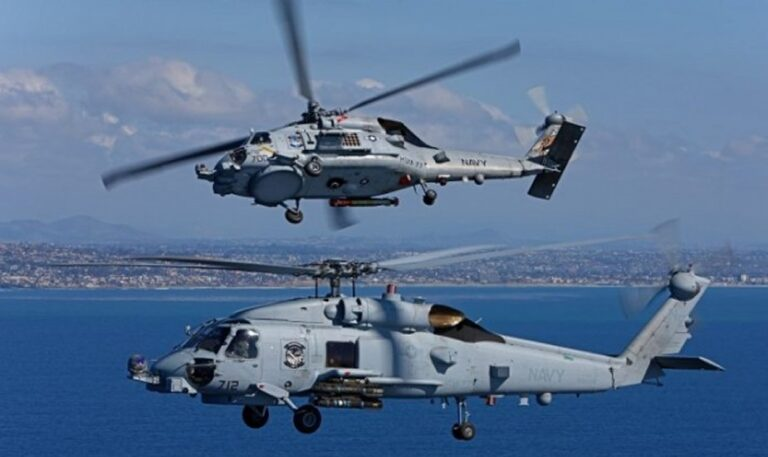 U.S. approves the sale of four MH-60R helicopters to Greece