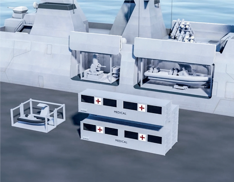 """SH Defence presents """"The Cube"""" multipurpose module for naval vessels"""