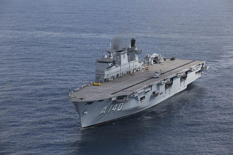 Brazilian Navy reclassifies Atlantico amphibious ship as aircraft carrier