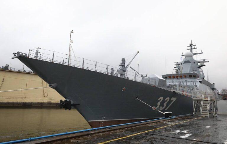 Severnaya Shipyard to deliver lead corvette of Project 20385 end of December