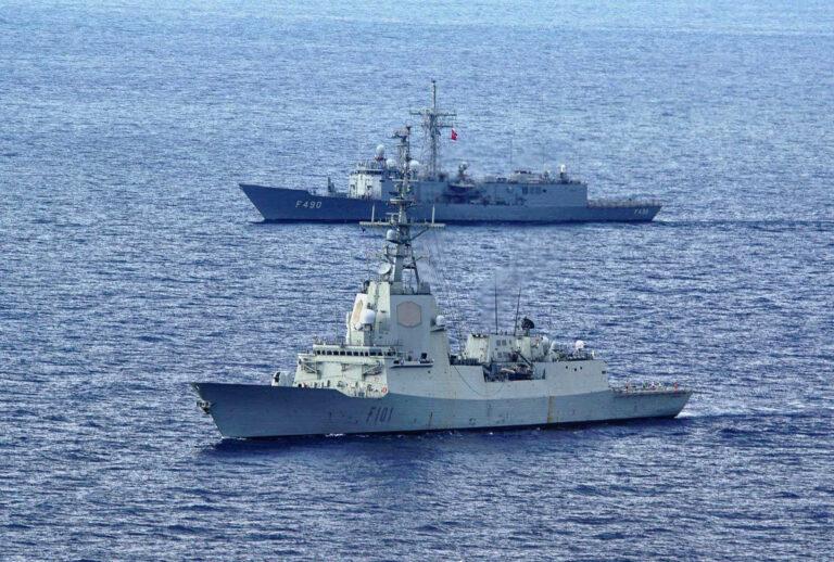 NATO Standing Maritime Group participates in Turkish-led Mavi Balina 20 Exercise