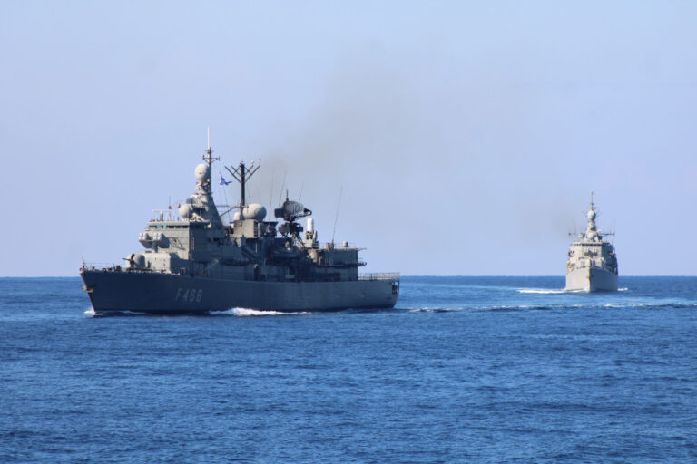 Hellenic Navy and NATO assets conduct Niriis-2020 exercise in the Mediterranean
