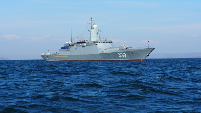 Russia's newest corvette conducts the first launch of cruise missile off Pacific coast